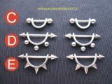 bradavky piercing