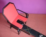 Křeslo s elektricky polohovatelnou lavicí