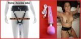 Vibrační hlavice - Kouzelná hůlka, Magická hůlka nejsnadnější cesta k mokrému orgasmu