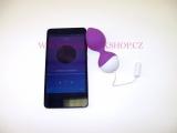 Vibrační vajíčko ovládané chytrým telefonem