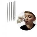 Sterilní jednorázová jehla na piercing