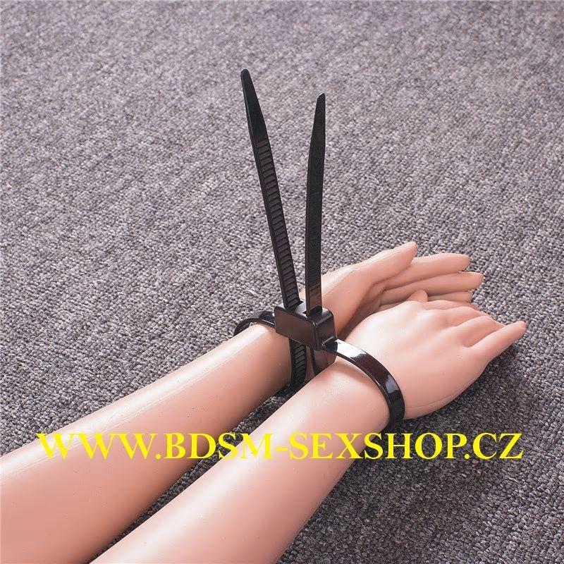 Jednorázová pouta - nylonová
