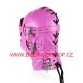 Kukla s vnitřním dildem - růžová