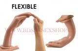 Silikonové dildo ve tvaru ruky