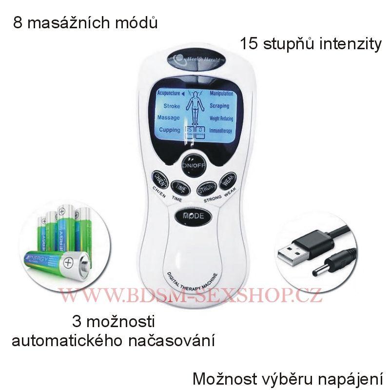 Masážní elektro zdroj na elektrosex